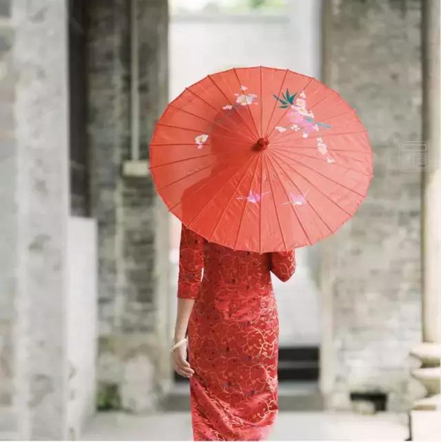 油纸伞,千年江南韵
