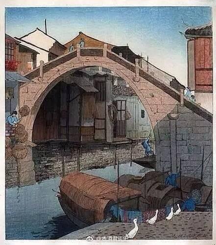 一位英国女画家 用木版画记录下清朝至民国初期的中国