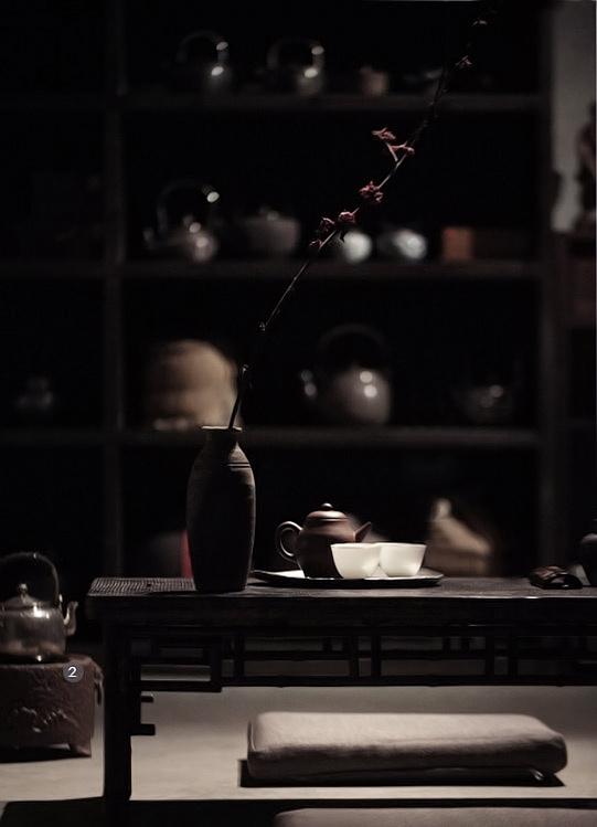 一杯《墨染》,半盏茶香