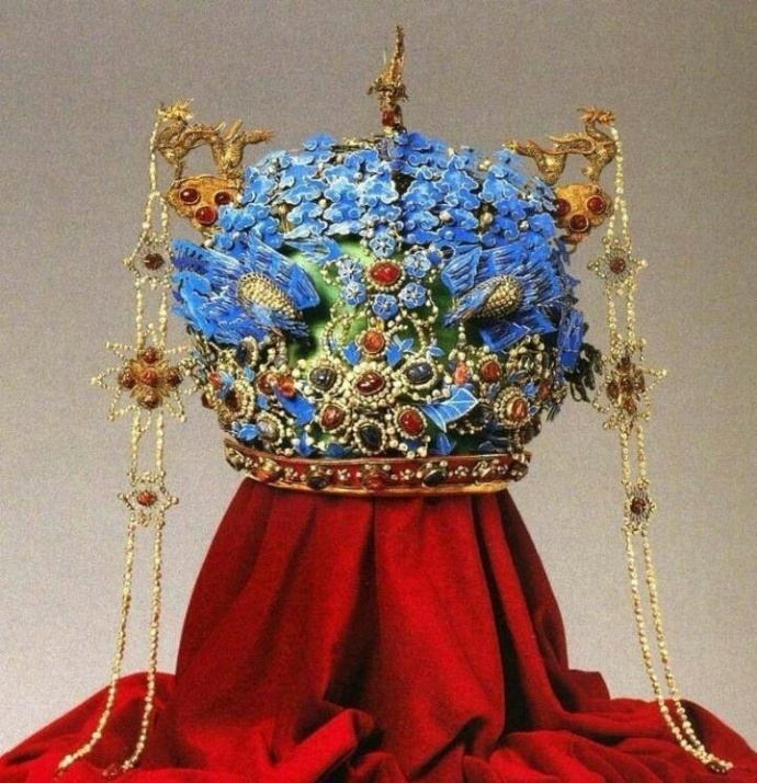 明 · 孝靖皇后凤冠,美极了