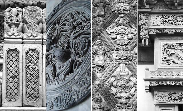 砖雕,中国传统园林艺术美!