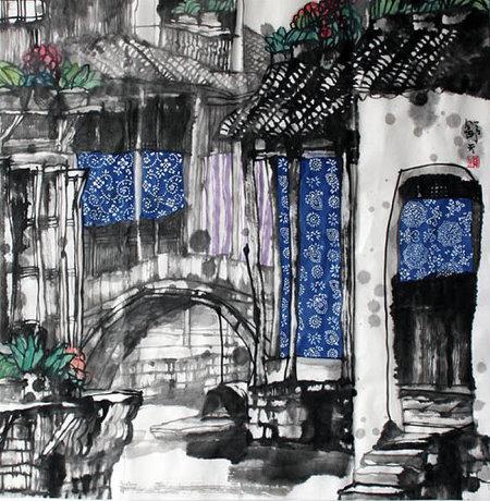精美的中国画风格插画创意