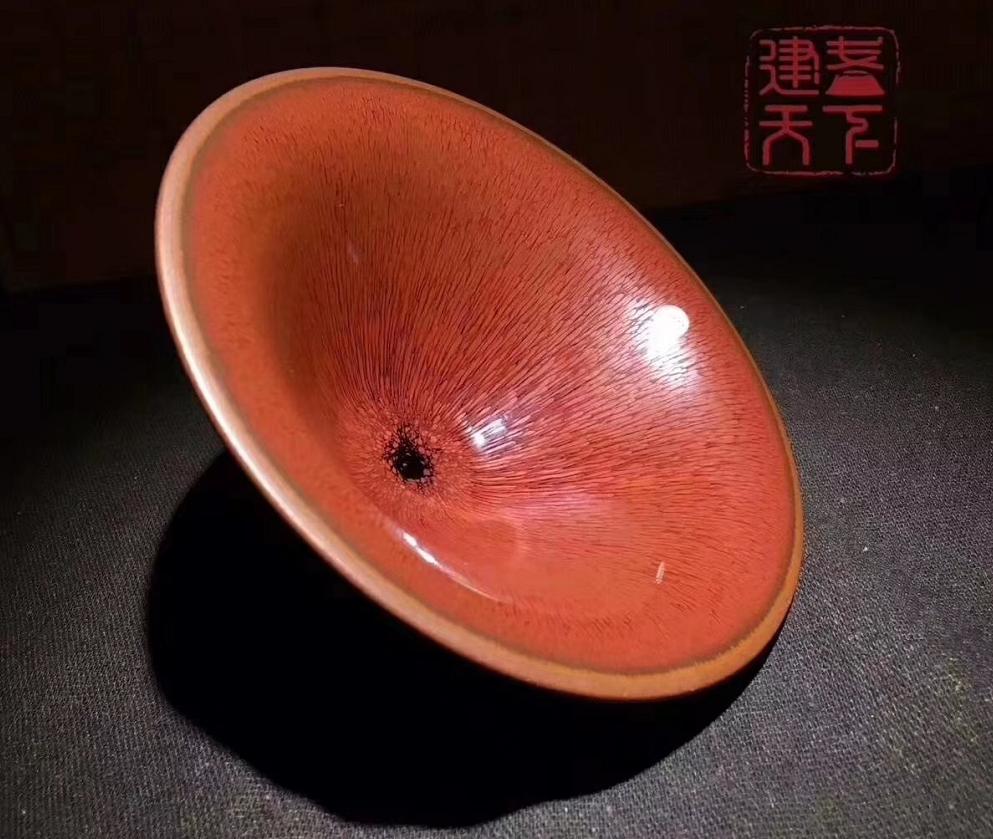 细说建盏陶瓷油滴兔毫