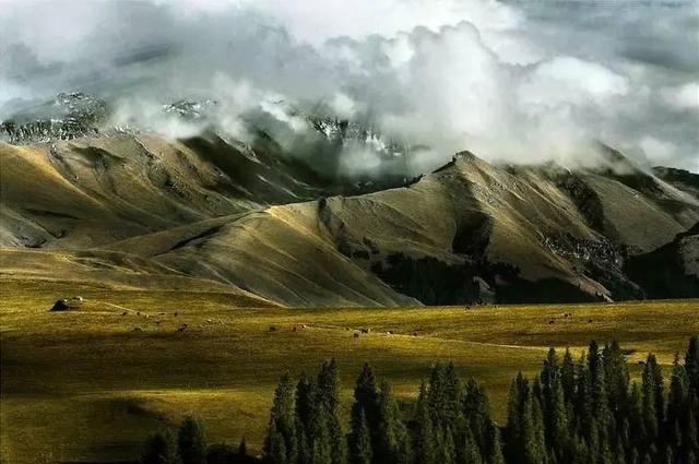 带你进入绝秘古道 天山的百里画廊