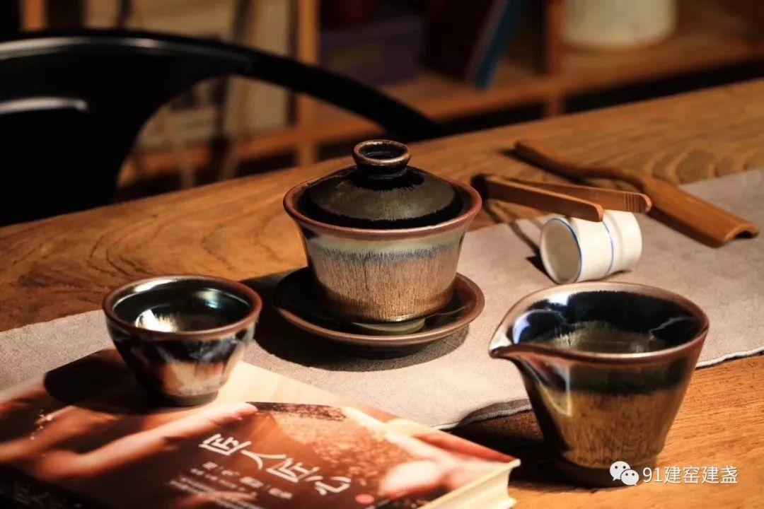 长期用建盏品茶,你会变成这样!