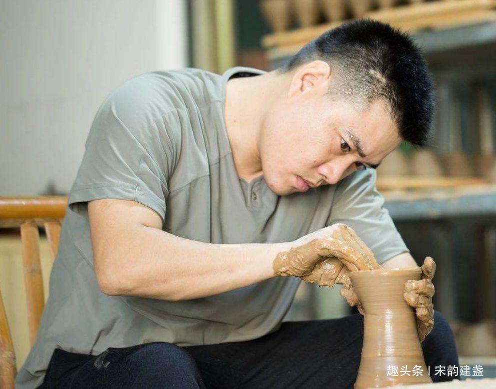 建盏大师吴继旺的代表作是什么?他得到作品有何特点?