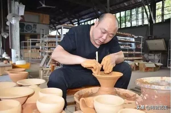 谢松青 |从收藏走向烧制建盏的瓷匠人