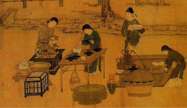 带你了解点茶,中国古代的拉花艺术