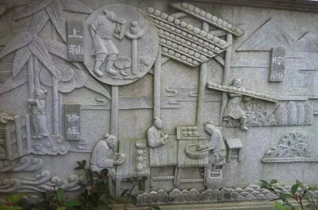 这些石雕为我们还原了一个真实的宋代建窑