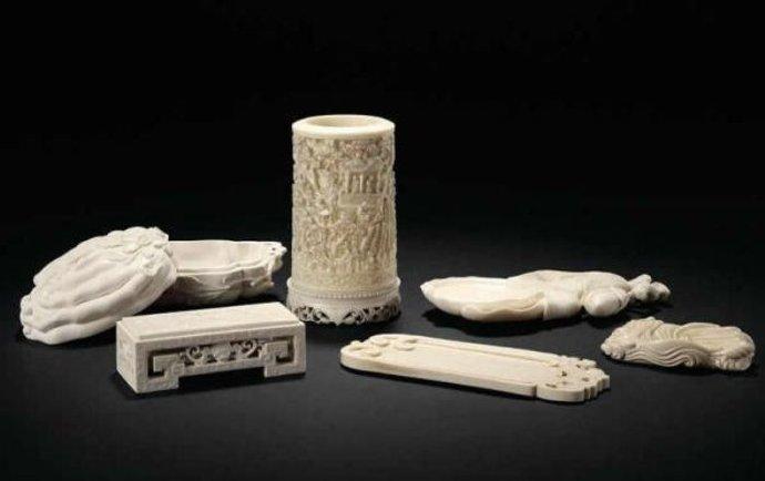 古代那些精美的文房墨宝组合