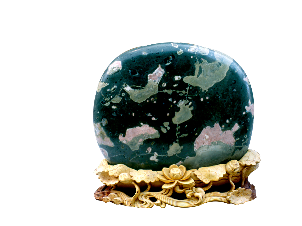 洛阳河洛石文化博物馆馆藏,古朴典雅,色彩斑斓!