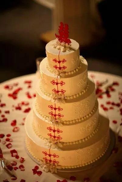 秀色可餐中国风蛋糕 震撼世界美