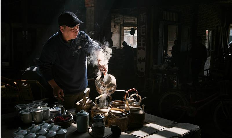 印象 老茶馆