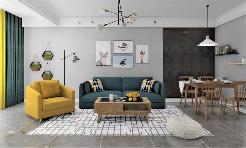 合理的软装色彩搭配成就完美的空间艺术|家居课堂