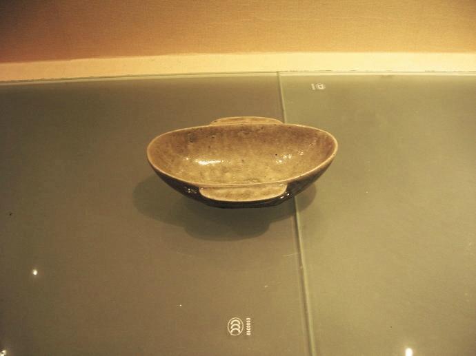 绍兴越国文化博物馆藏越窑青瓷 青翠莹润 光彩照人