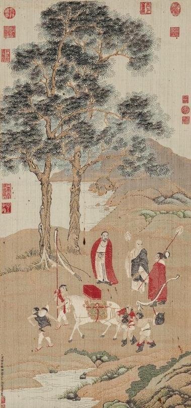 苏州缂丝 皇家御用织物  自南宋到明清昌盛不衰