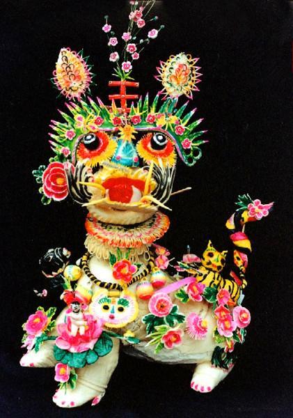 中华文化的瑰宝,面花指尖上的传承