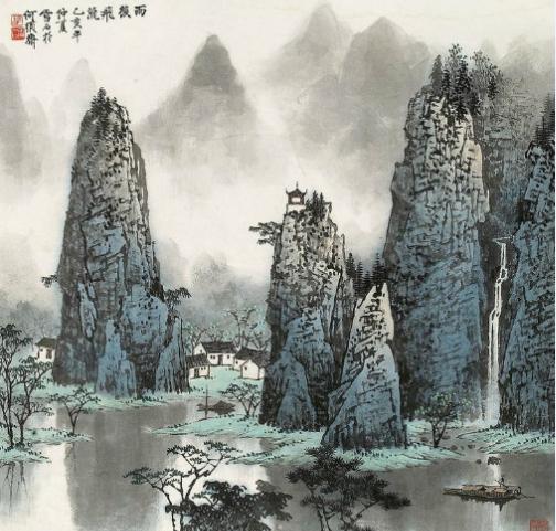 国之墨韵,国画意境藏在山水间