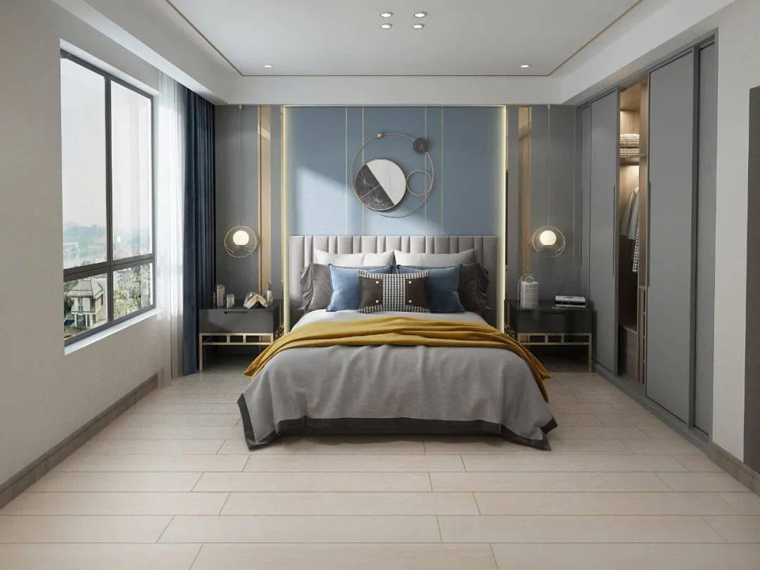 卧室铺上木纹砖,美到不想关灯了!