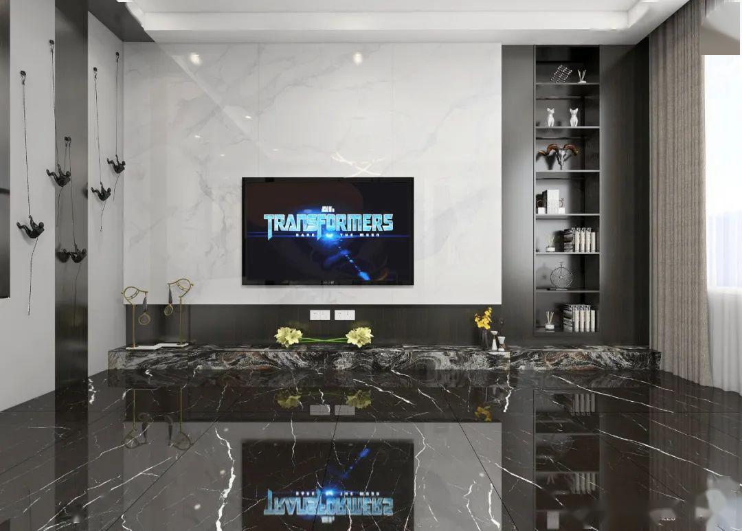 如何把别墅打造得更高级,陶瓷大板更有话语权!