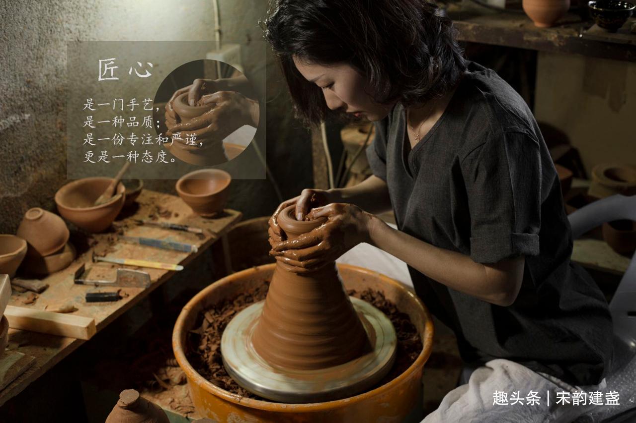 建盏女匠人张静老师作品赏析,创意灵感和文化历史的融会贯通