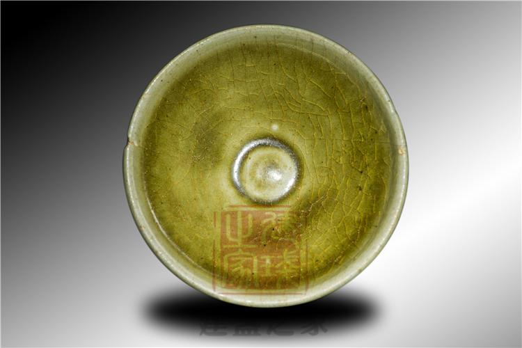 北宋建窑早期器型,盏中有鸡心底