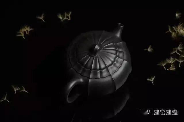 喝茶,紫砂配建盏,完美!