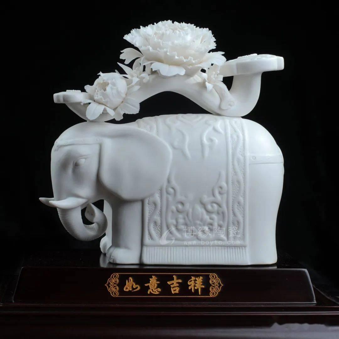 """吉祥如意就是吉""""象""""如意,心想事成的含义"""