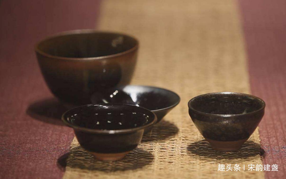 宋代建盏作为黒釉瓷中最杰出代表,是什么成就了它的巅峰?