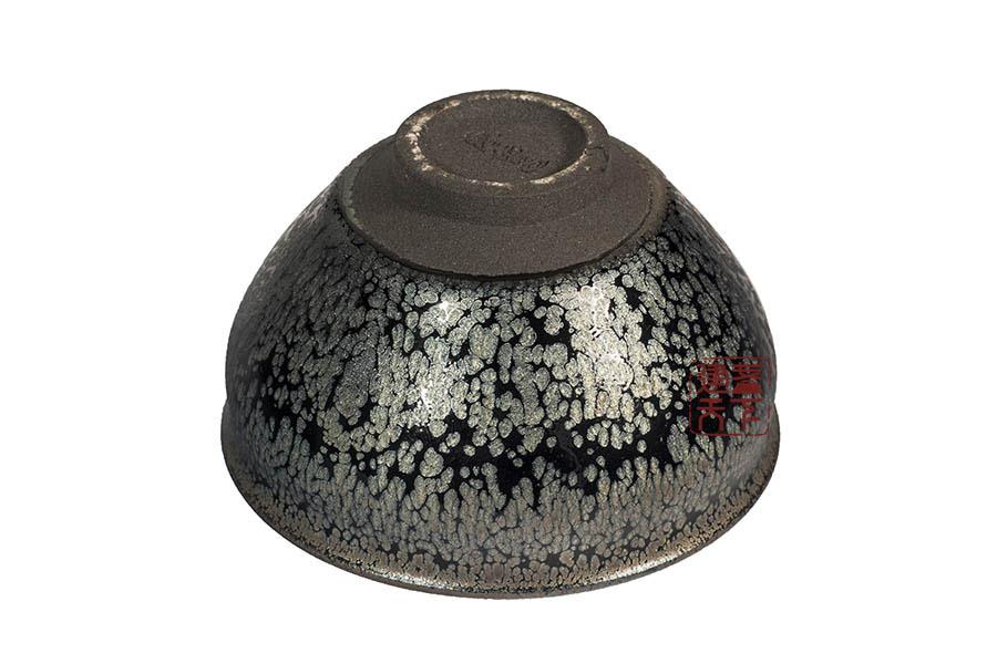 建盏釉色之油滴(鹧鸪斑)