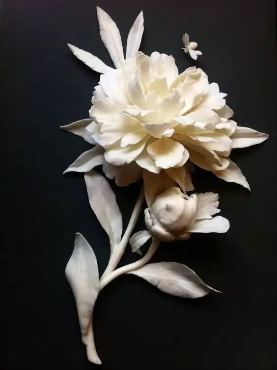 陶瓷花,被惊艳到了吧,真不敢相信是陶瓷的