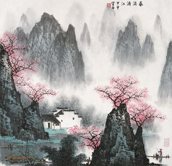 江南水墨 雅淡至美中国风