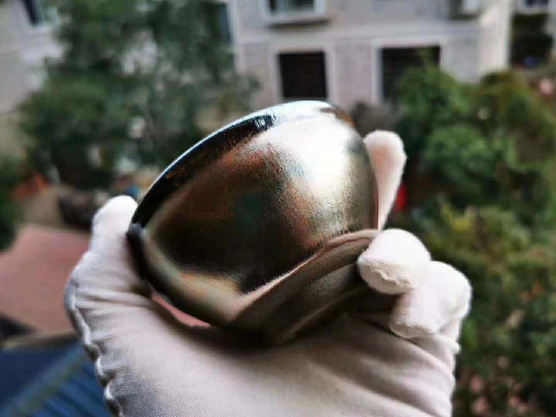 建盏是什么材质?铁胎!自然釉料!不要被假盏给骗了
