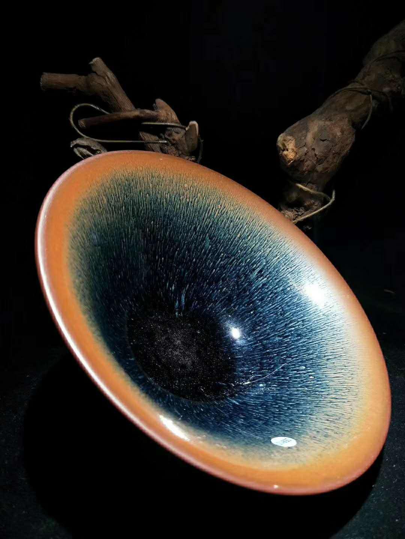 建盏是什么釉?自然釉料建盏师傅独家秘方
