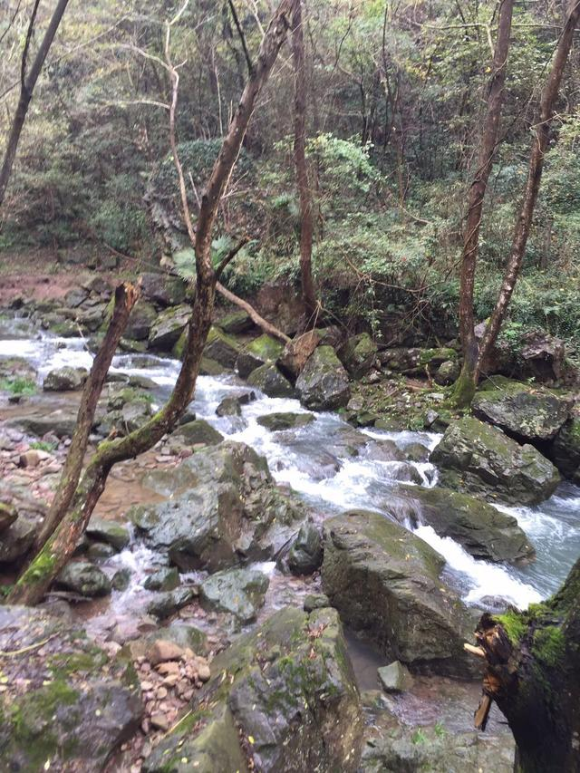 有江南瀑布群之称的 百丈飞瀑 蔚为壮观
