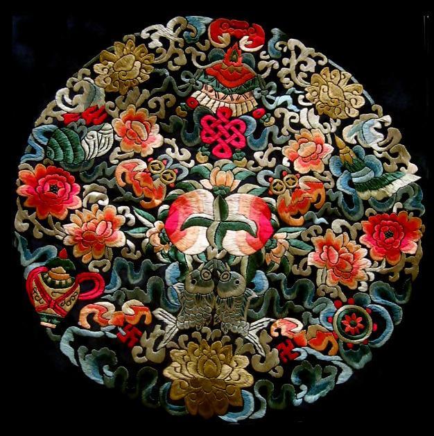 情定中国 刺绣复古之美 惊醒动魄