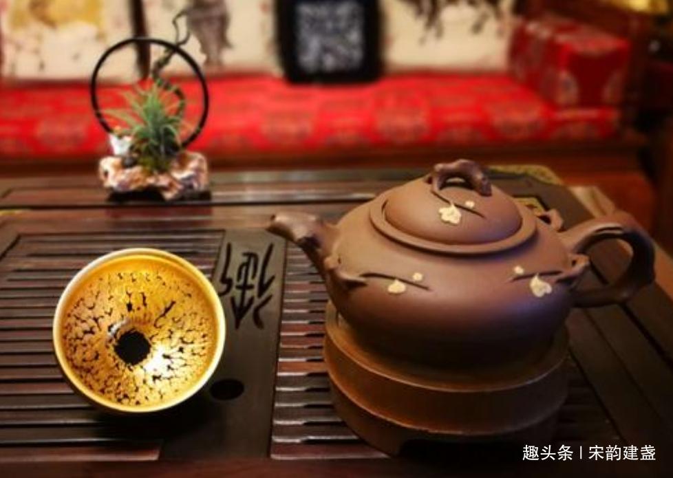 建盏茶器品茗需要什么?大家图的是什么?两个字:心境!