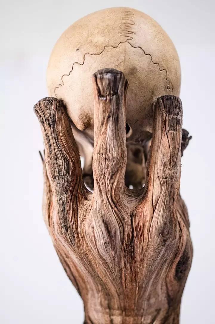 眼见不一定为实!像极了木制雕塑的陶瓷!