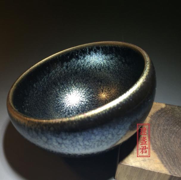 【苏天培】建盏名家简介及釉色欣赏