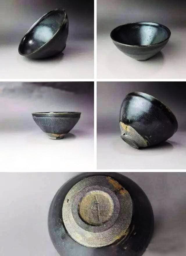 你敢用宋代建盏喝茶吗?看图先明白什么是老盏