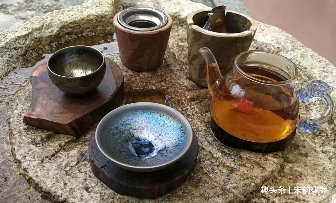 """柴米油盐酱醋""""茶"""",从千年茶文化,看建盏在茶具中的历史地位"""