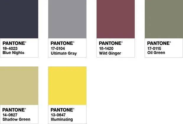 解密2021年度色彩流行趋势:亮丽黄和极致灰