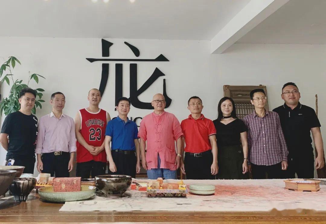 省陶协陪同德化县领导前往南平建阳考察建窑建盏