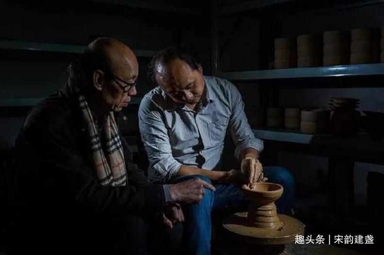 建盏匠人黄文勇:烧制多种建盏器型,努力把小众变成潮流